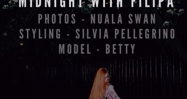 Midnight Shooting with Betty, Chouchou and Nuala Swan.