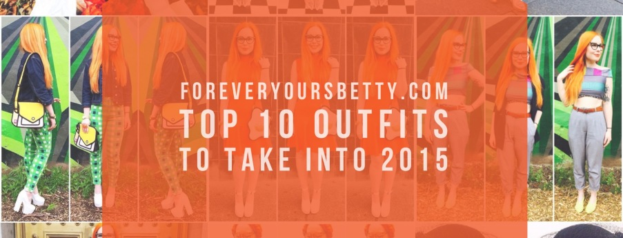 Top 10 outfits to take into 2015.