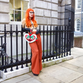 LFW Day 2: I'm not naked, it's Margiela.