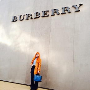 LFW Day 4: And then there was Burberry.
