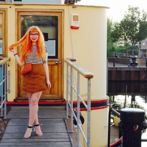 Betty on the Barge