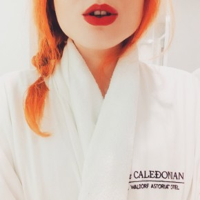 Caledonian Chic at Guerlain Spa, Edinburgh